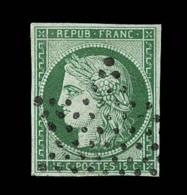 N°2 - 15c Vert - TB - 1849-1850 Ceres