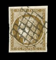 N°1a - 10c Bistre Brun - TB - 1849-1850 Ceres
