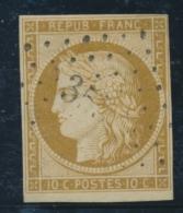 N°1 - Sans Défaut - TB - 1849-1850 Ceres