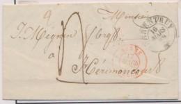 N°690 - BERNE/DELLE (Rge) - 17/3/49 - De Porentruy - Pr Hérimoncourt - TB - Postmark Collection (Covers)