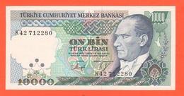 Turkey Turchia 10.000 Lirasi  1970 - Turquie