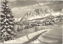 Y4311 Cortina D'Ampezzo (Belluno) - Panorama Invernale Col Pomagnon / Viaggiata 1963 - Altre Città