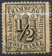 Stamp German States  Hamburg Used Lot1 - Hamburg