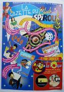 DEPLIANT LA GAZETTE DU CLUB SPIROU FIFURINE FLASH GORDON 1998 - Oggetti Pubblicitari
