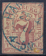 Stamp German States  Hamburg Used Lot6 - Hamburg