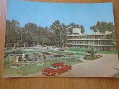D151947 Hungary Siofok Hotel Venus  - Automobile  Auto -  Car Voiture 1966 Stamp Tram - Autobus & Pullman