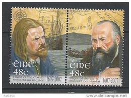 Irlande 2007 N°1750/1751  Neufs **  Fuite Des Comtes - Neufs