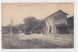 Lussac-de-Libourne - Gare Avec Trains         (A-48-150114) - Libourne