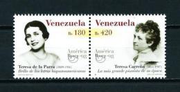 Venezuela  Nº Yvert  2153/4  En Nuevo - Venezuela