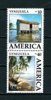 Venezuela  Nº Yvert  1510/11 (vertical)  En Nuevo - Venezuela