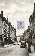 CPSM Dentelée - SARREBOURG (57) - Aspect De La Grande-Rue Dans Les Années 50 / 60 - Sarrebourg