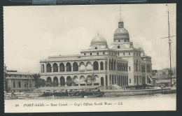 Port Said - Suez Canal - Coy's Offices South West    - Ode107 - Port Said