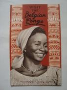 VISIT THE BELGIAN CONGO. AN UNFORGETTABLE TRIP!! - CONGO BELGE, 1950 APROX. 16 PAGES. B/W PHOTOS. - Dépliants Touristiques
