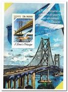 S. Tome E Principe 2014, Postfris MNH, Bridge - Postzegels