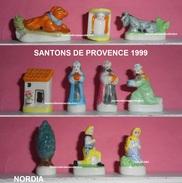 FEVES SANTONS DE PROVENCE 1999p59  NORDIA SERIE COMPLETE - Santons