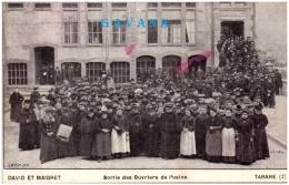69 TARARE - Sortie Des Ouvriers De L'usine   (Recto/Verso) - Tarare