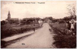 86 MOUSSAC-sur-VIENNE - Vue Générale   (Recto/Verso) - Frankrijk