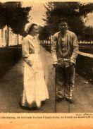 Tilla Durieux, Die Berühmte Berliner Schauspielerin Im Dienste Der Krankenpflege / Druck,entnommen  Aus Zeitschrift/1915 - Livres, BD, Revues