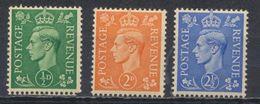 °°° UK ENGLAND - Y&T N°209/12/13 - 1937 °°° - 1902-1951 (Re)