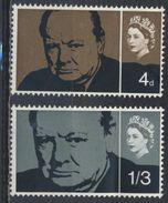 °°° UK ENGLAND - Y&T N°397/98 - 1965 °°° - 1952-.... (Elisabetta II)