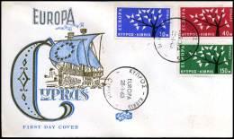 (E1417)  Grieks Cyprus  - FDC - Europa CEPT 1963 - Europa-CEPT