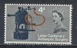 °°° UK ENGLAND - Y&T N°405 - 1965 °°° - 1952-.... (Elisabetta II)