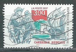 France YT N°3103 Corsaires Basques Oblitéré ° - Gebraucht