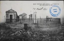 CPA.- FRANCE - Le Mont-Ventoux - La Plateforme Des Instruments En été - Daté 1921 -TBE - France