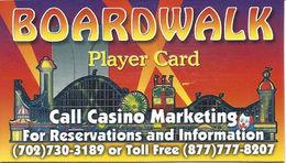 Boardwalk Casino - Las Vegas, NV - Refrigerator Magnet (same Size As Slot Card) - Casino Cards