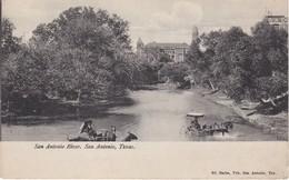 POST CARD TEXAS - SAN-ANTONIO RIVER- - San Antonio