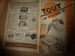 1948 TLSD : Faire --> Skis Nautiques;Parpaings;Alambic;Machine à Couper Le Verre;Café National; Ciment Des Métallos; Etc - Bricolage / Technique