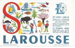 Buvard Les Dictionnaires Larousse. Lettre S. - Kids