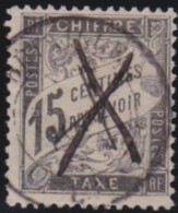 France     .    Yvert      .      Taxe   17        .     O      .         Oblitéré - Postage Due