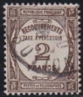 France     .    Yvert      .      Taxe     62            .     O      .         Oblitéré - Postage Due
