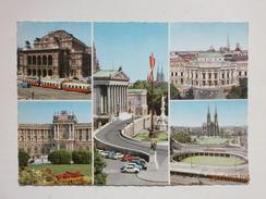 Postcard Gruss Aus Wien Multiview My Ref B21463 - Greetings From...