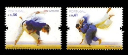 Portugal 2008 Mih. 3266/67 European Judo Championships MNH ** - Nuevos