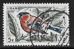 Lebanon, Scott # 434 Used Bird, 1965 - Lebanon