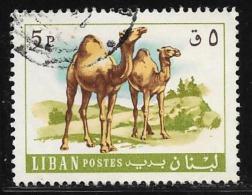 Lebanon, Scott # 456 Used Camels, 1968 - Liban
