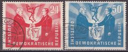 Hmö_ DDR - Mi.Nr. 284 - 285 - Gestempelt Used - Gebruikt