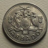1978 - Barbades - Barbados - TWENTY FIVE CENTS - KM 13 - Barbados