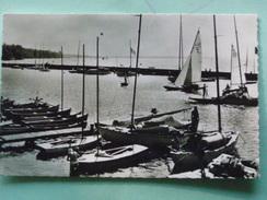 V07-74-D2-74-haute Savoie-thonon-le Port Et La Pointe D'yvoire-barques Voiliers--animee-beau Timbre-1957 - Thonon-les-Bains