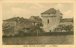 Dép 16 - Chateaux - Mansle - Ste Colombe - Sainte Colombe - Le Château - Bon état Général - Autres Communes