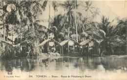 COCHINCHINE TONKIN  DOSON ROUTE DE HAIPHONG A DOSON - Vietnam