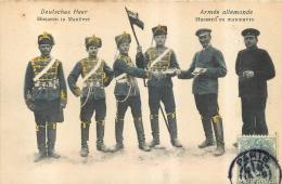 ARMEE ALLEMANDE HUSSARD EN MANOEUVRE - Guerre 1914-18