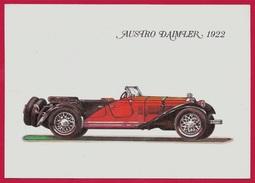 CPM Ancêtre Automobile - AUSTRO DAIMLER 1922 * Auto Voiture Ancienne De Collection Car - Ansichtskarten