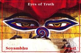 Eyes Of Soyambhu - Kathmandu - Nepal - Népal