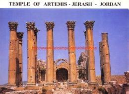 Temple Of Artemis - Jerash - Jordan - Jordanie