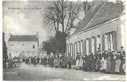 CP 258 CPA De Warhem (59) La Rue De L'Eglise - France
