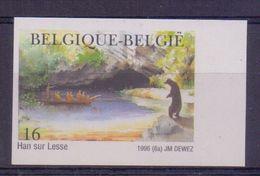 BELGIË/BELGIQUE:1996:Y.2640 Ongetand/non Dentelé (180) ##Grotten Van/Grottes De HAN##: ARCHEOLOGY,GROTTOES,HAN Sur LESSE - Belgium