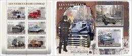 Comores 2008, Combat Car, Police, 6val In BF+BF - Police - Gendarmerie